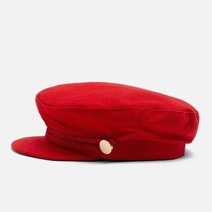 ZARA Buttoned Nautical Hat